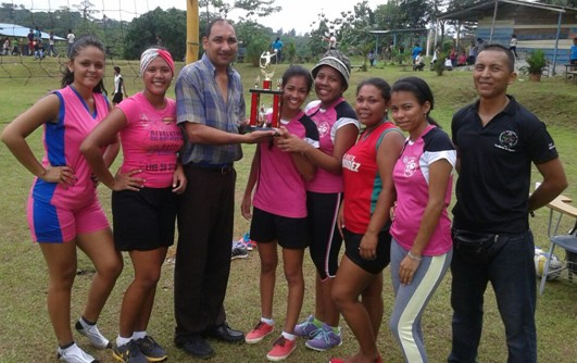 ganadoras de la copa de voleibol femenino centro regional de cocle
