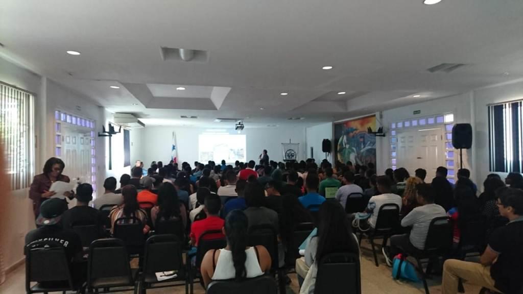 Salón de conferencias del Centro Regional de Coclé