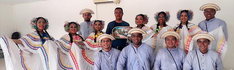 Conjunto folclórico del Centro Regional de Coclé
