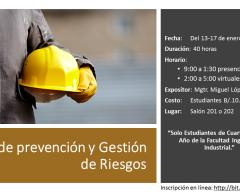 Plan de prevención y Gestión de Riesgos