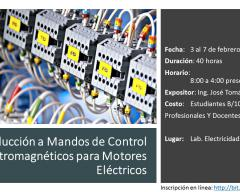 Introducción a Mandos de Control Electromagnéticos para Motores Eléctricos