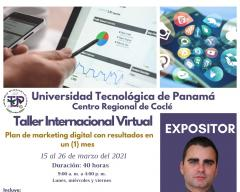 Taller Virtual Plan de Marketing Digital con Resultados en un Mes